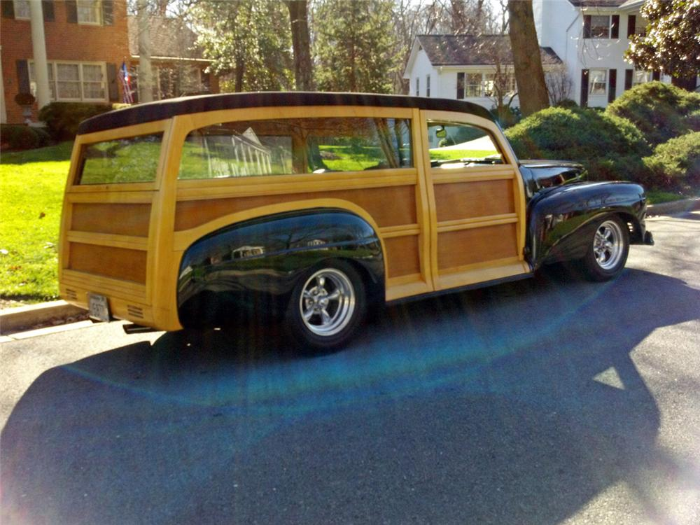 2018 Purple Cars >> 1947 MERCURY CUSTOM WOODY WAGON - 115914