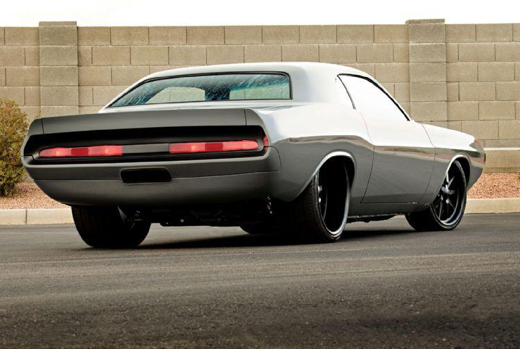 1970 DODGE CHALLENGER CUSTOM COUPE - Rear 3/4 - 115919
