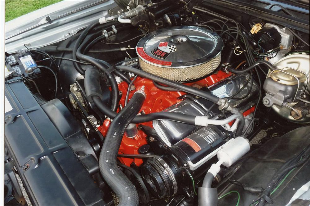 1969 CHEVROLET CHEVELLE SS COUPE - Engine - 115928