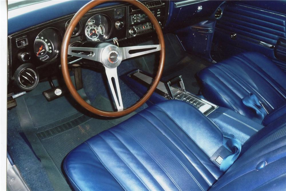 1969 CHEVROLET CHEVELLE SS COUPE - Interior - 115928