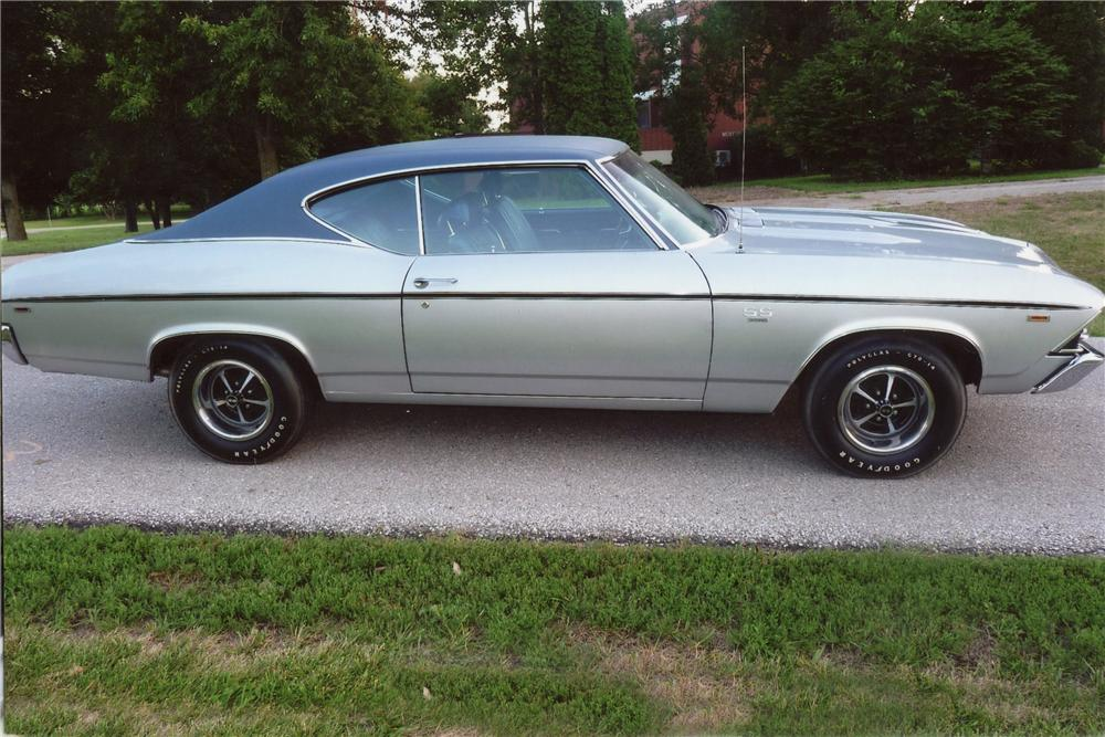 1969 CHEVROLET CHEVELLE SS COUPE - Side Profile - 115928
