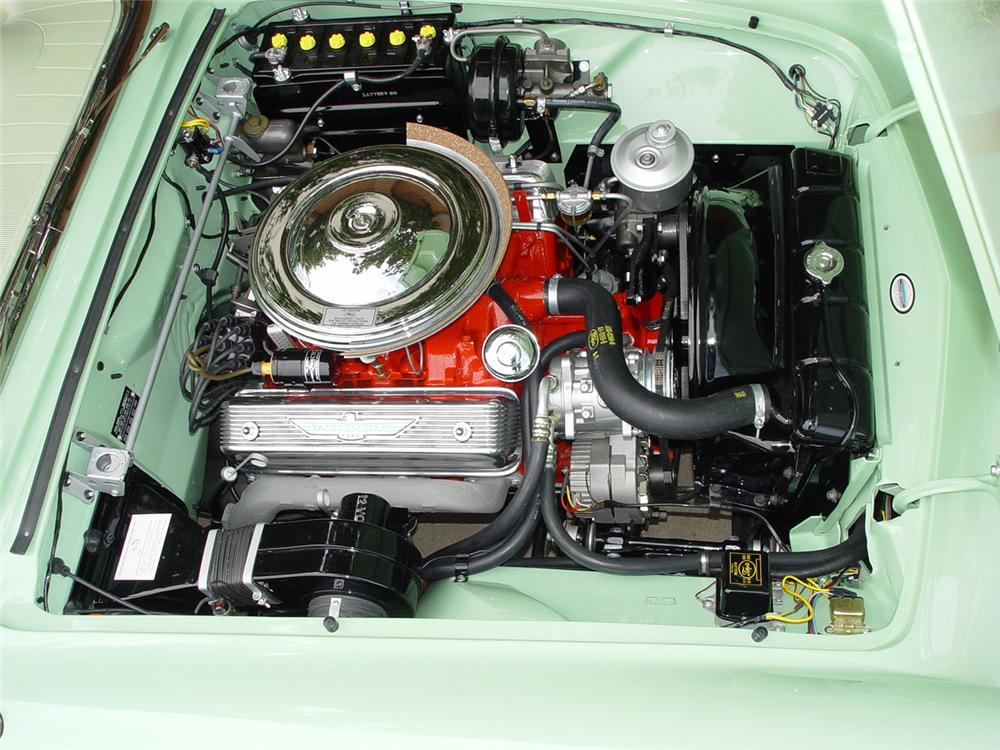 1957 FORD THUNDERBIRD CONVERTIBLE - Engine - 115943