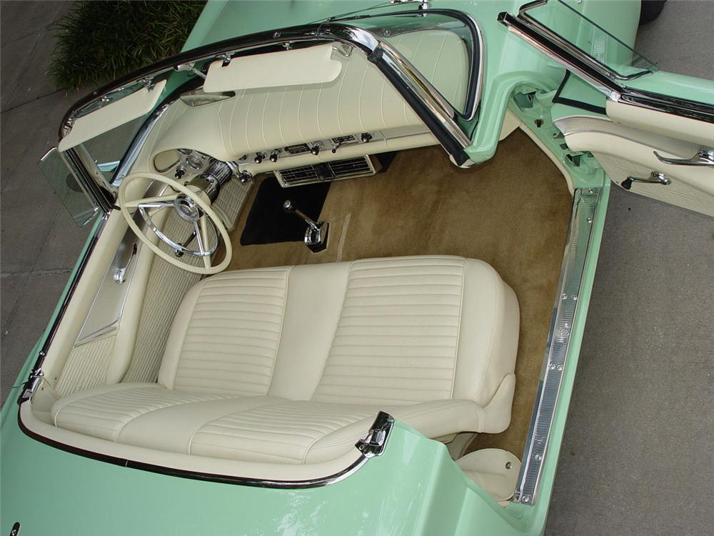 1957 FORD THUNDERBIRD CONVERTIBLE - Interior - 115943