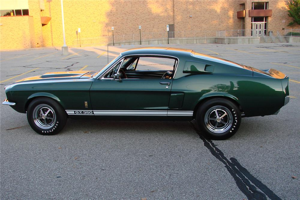 1967 SHELBY GT350 FASTBACK - Side Profile - 115946