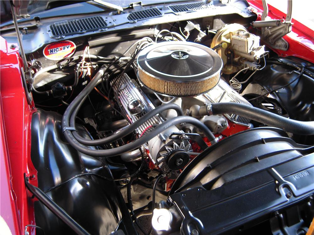 1970 CHEVROLET CAMARO COUPE - Engine - 115950
