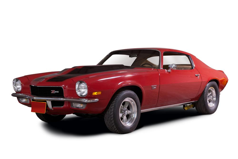 1970 CHEVROLET CAMARO COUPE - Front 3/4 - 115950