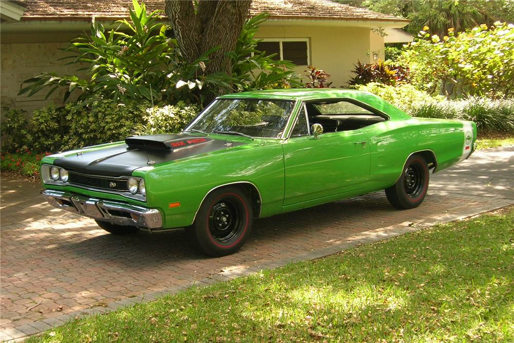 1969 DODGE SUPER BEE 2 DOOR HARDTOP - Front 3/4 - 115953