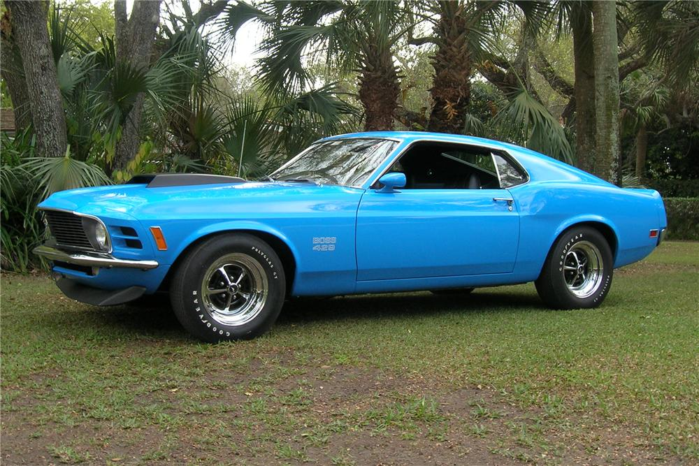 1970 FORD MUSTANG BOSS 429 FASTBACK - Front 3/4 - 115960