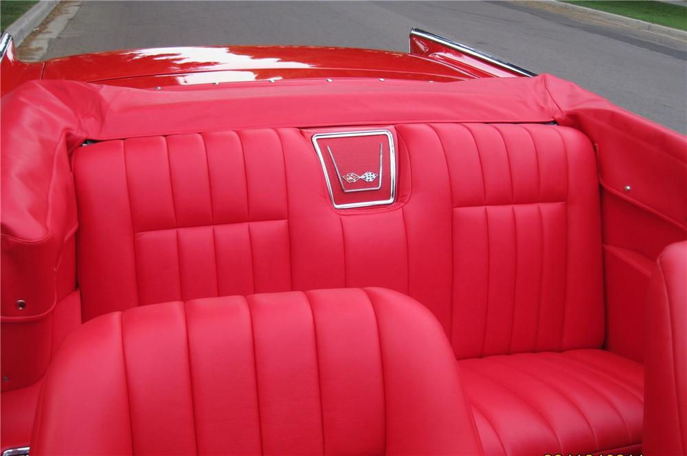 1957 CHEVROLET BEL AIR CUSTOM CONVERTIBLE - Interior - 115962