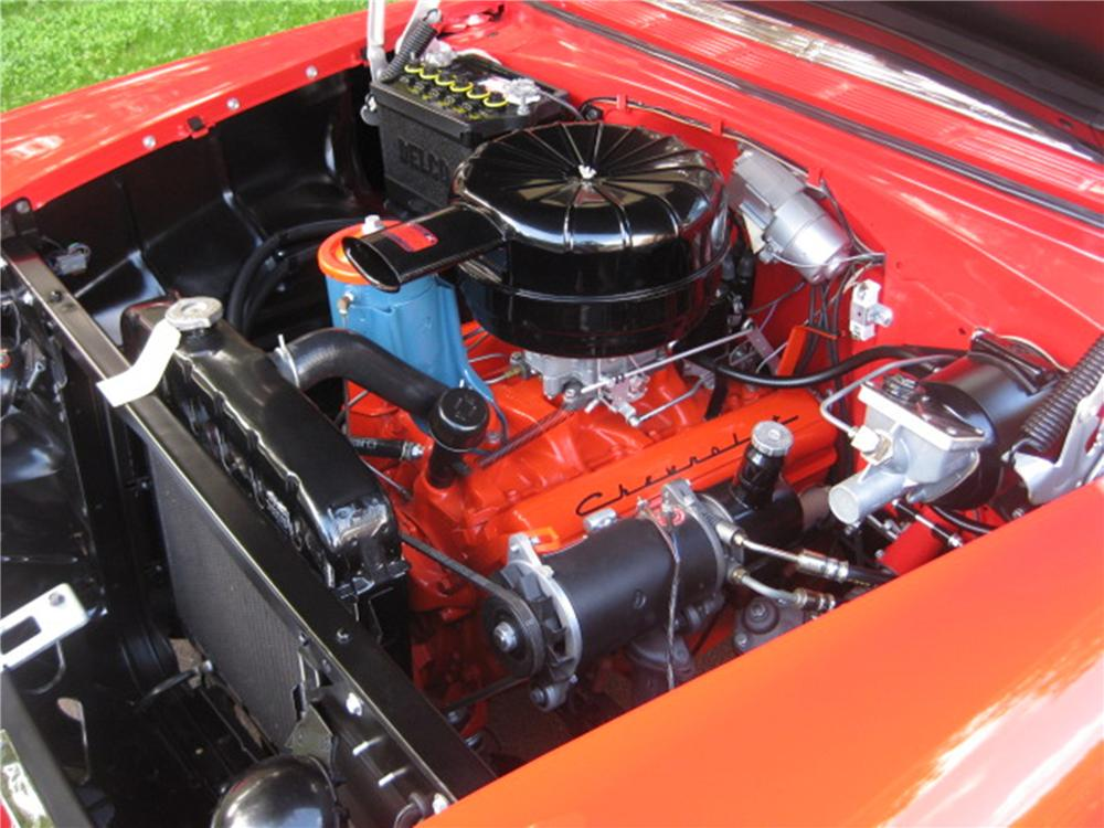 1955 CHEVROLET BEL AIR CONVERTIBLE - Engine - 115964