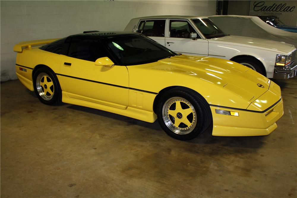 "1988 CHEVROLET CORVETTE COUPE ""GREENWOOD EDITION"" - Front 3/4 - 115970"