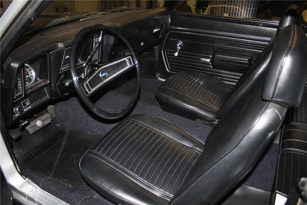 1969 CHEVROLET CAMARO ZL1 COUPE - Interior - 115971