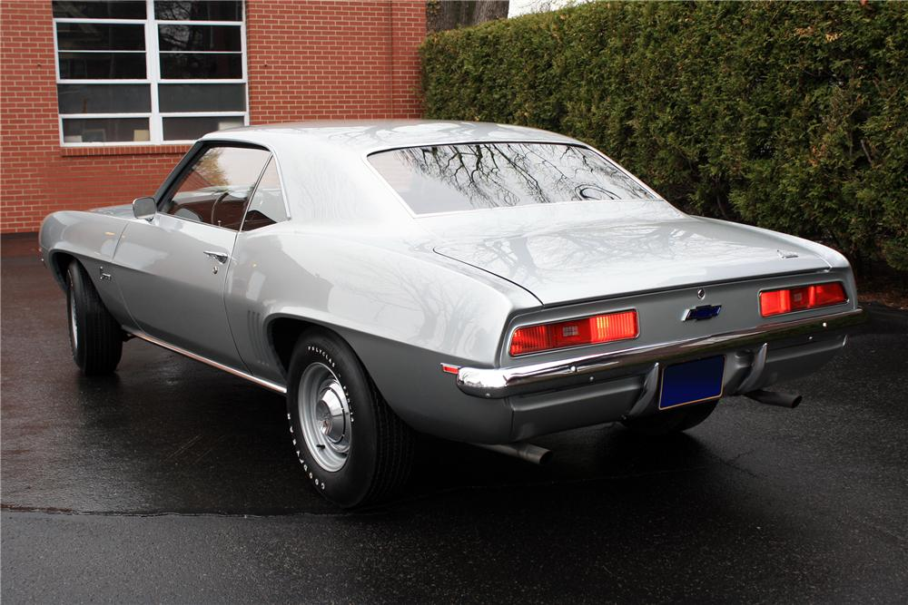 1969 CHEVROLET CAMARO ZL1 COUPE - Rear 3/4 - 115971