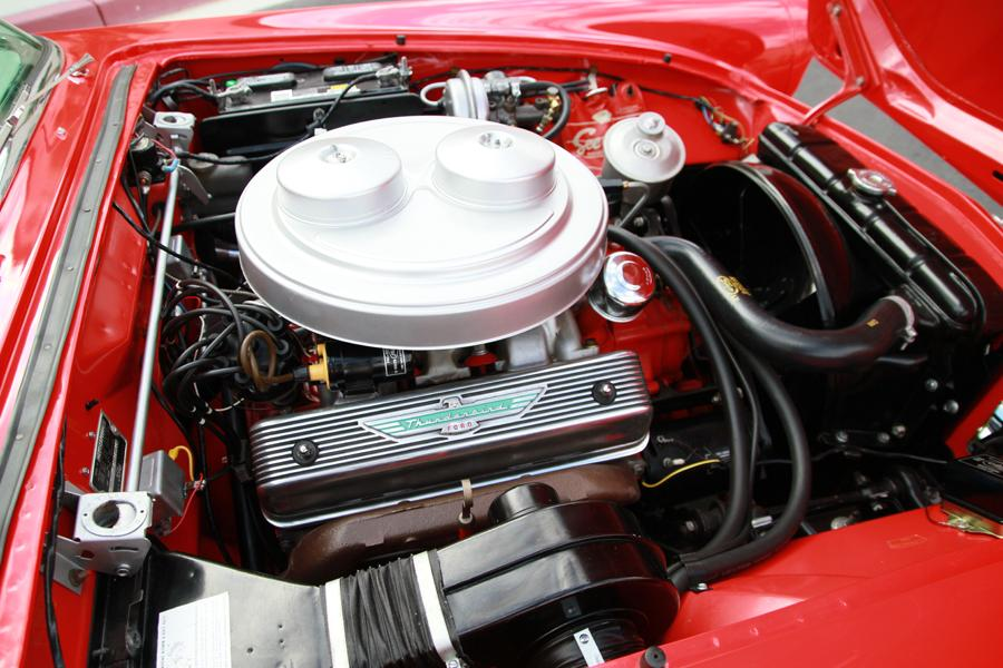1957 FORD THUNDERBIRD E CONVERTIBLE - Engine - 115973