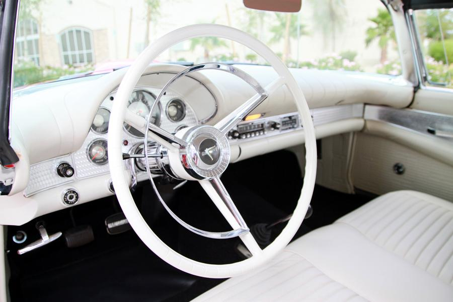 1957 FORD THUNDERBIRD E CONVERTIBLE - Interior - 115973