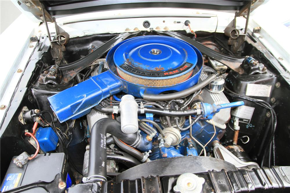 1969 SHELBY GT500 FASTBACK - Engine - 115976