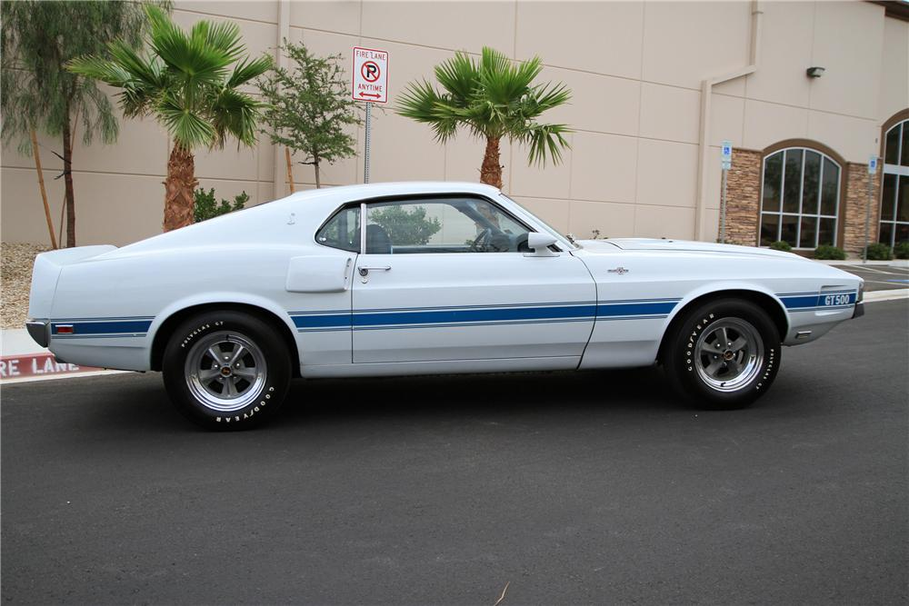 1969 SHELBY GT500 FASTBACK - Side Profile - 115976