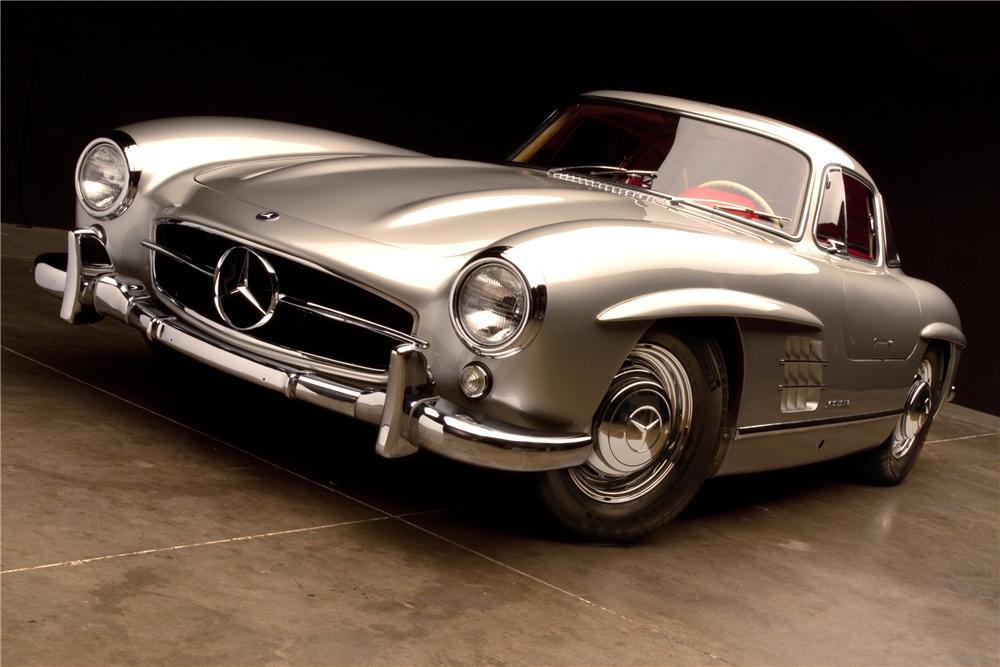 1954 MERCEDES-BENZ 300SL GULLWING - Front 3/4 - 115978