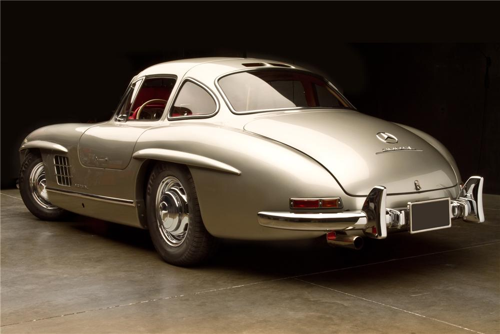 1954 MERCEDES-BENZ 300SL GULLWING - Rear 3/4 - 115978