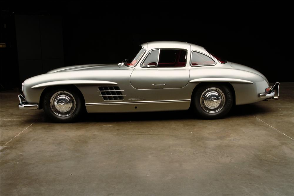 1954 MERCEDES-BENZ 300SL GULLWING - Side Profile - 115978