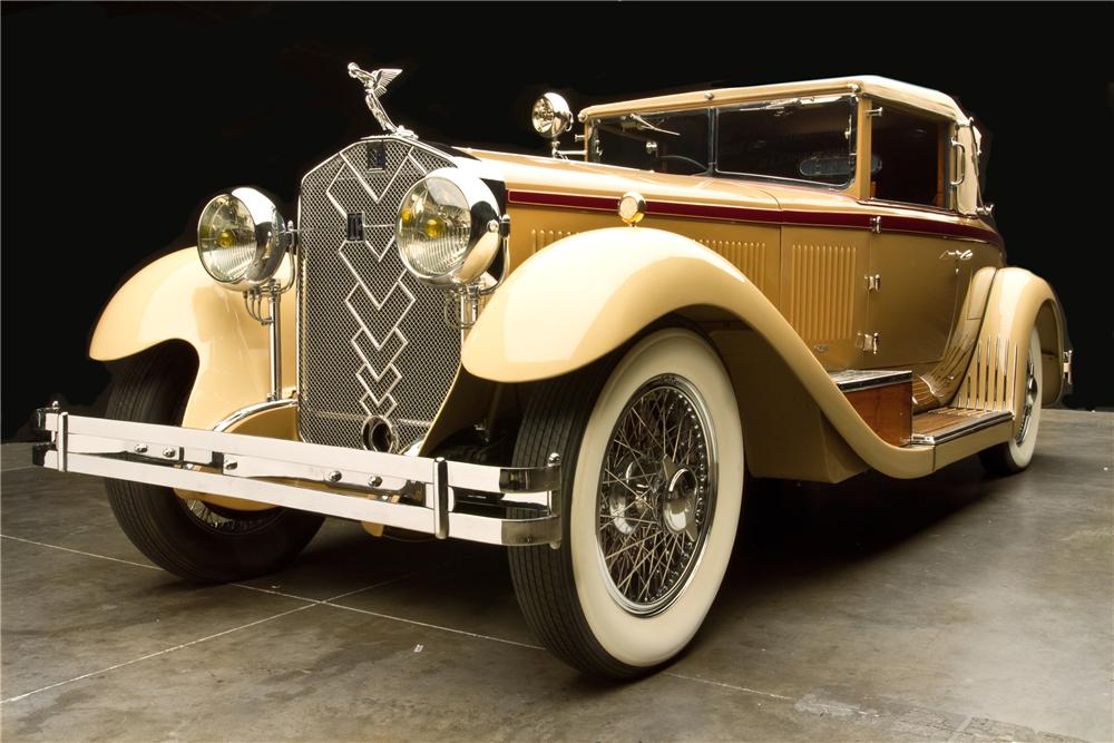 1930 ISOTTA FRASCHINI TIPO CABRIOLET - Front 3/4 - 115979