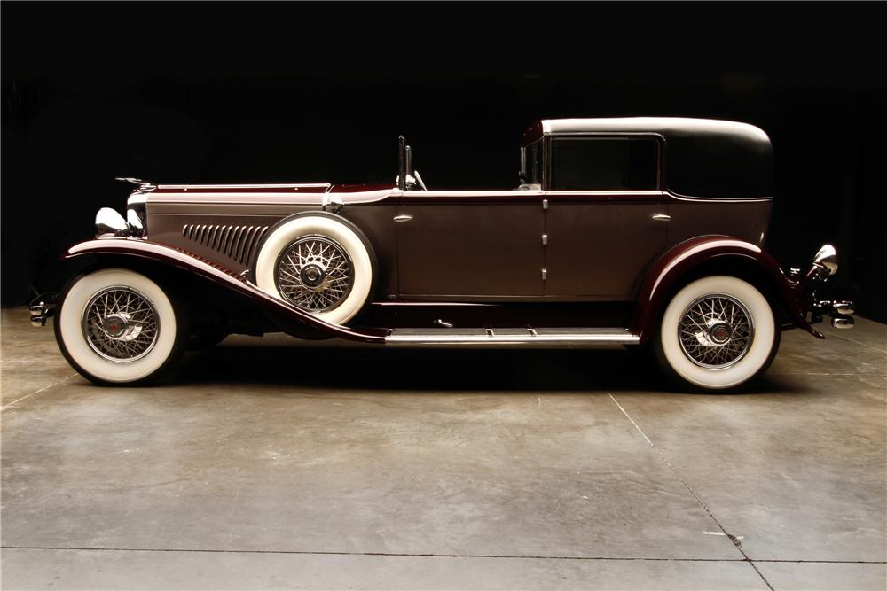 1930 DUESENBERG J  - Side Profile - 115980