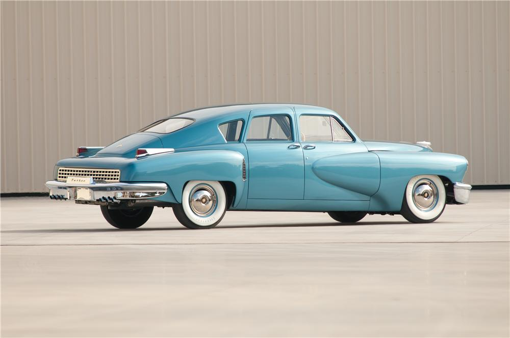 1948 TUCKER TORPEDO  - Rear 3/4 - 115982