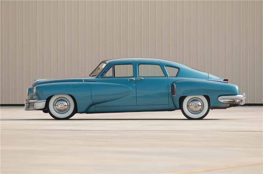 1948 TUCKER TORPEDO  - Side Profile - 115982
