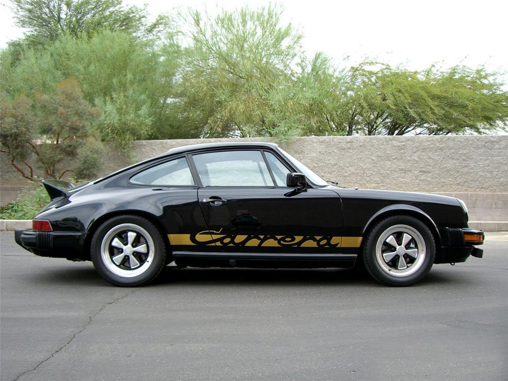 1982 PORSCHE 911 SC CUSTOM 2 DOOR COUPE - Side Profile - 115986
