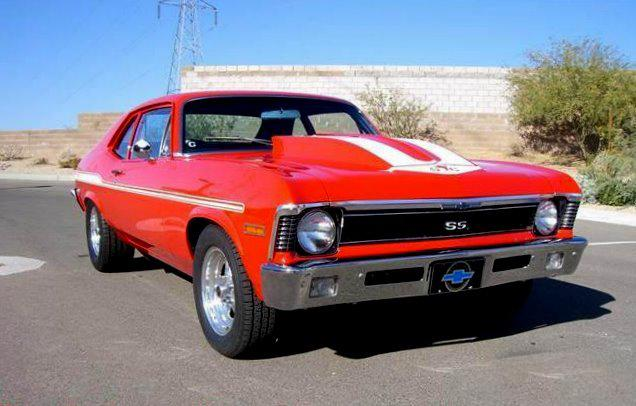 1972 CHEVROLET NOVA YENKO RE-CREATION - Front 3/4 - 115989