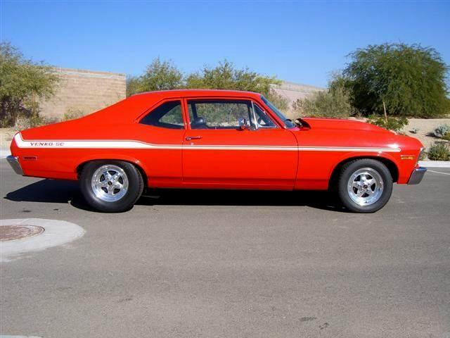 1972 CHEVROLET NOVA YENKO RE-CREATION - Side Profile - 115989