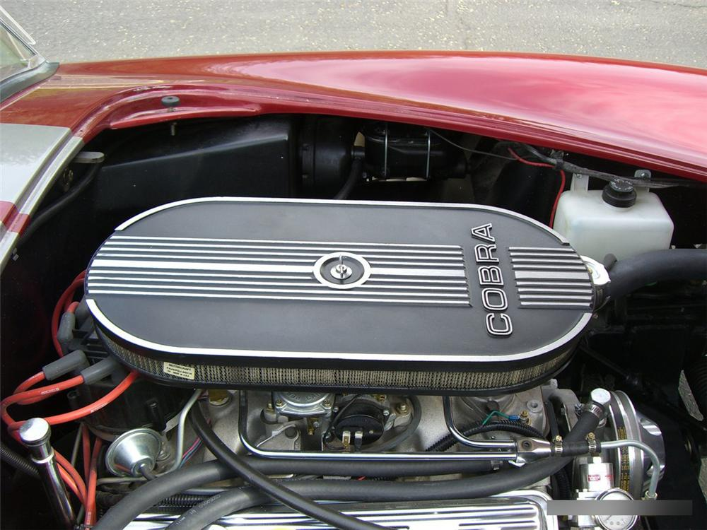 1966 SHELBY COBRA ROADSTER RE-CREATION - Engine - 115990
