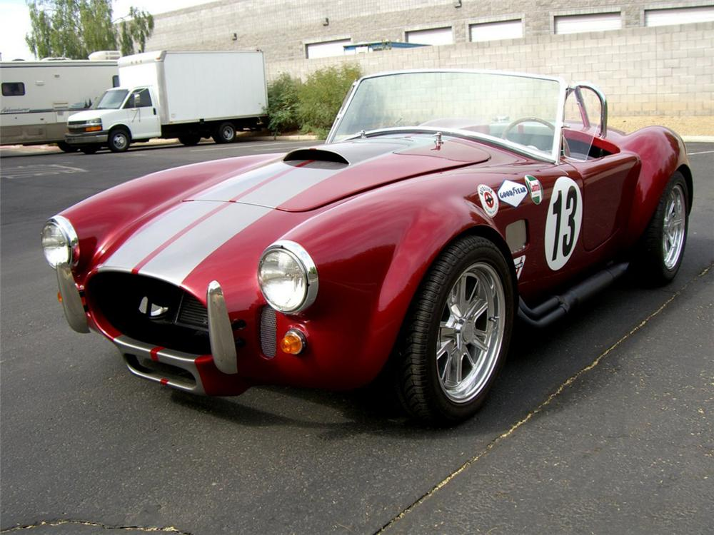 1966 SHELBY COBRA ROADSTER RE-CREATION - Front 3/4 - 115990