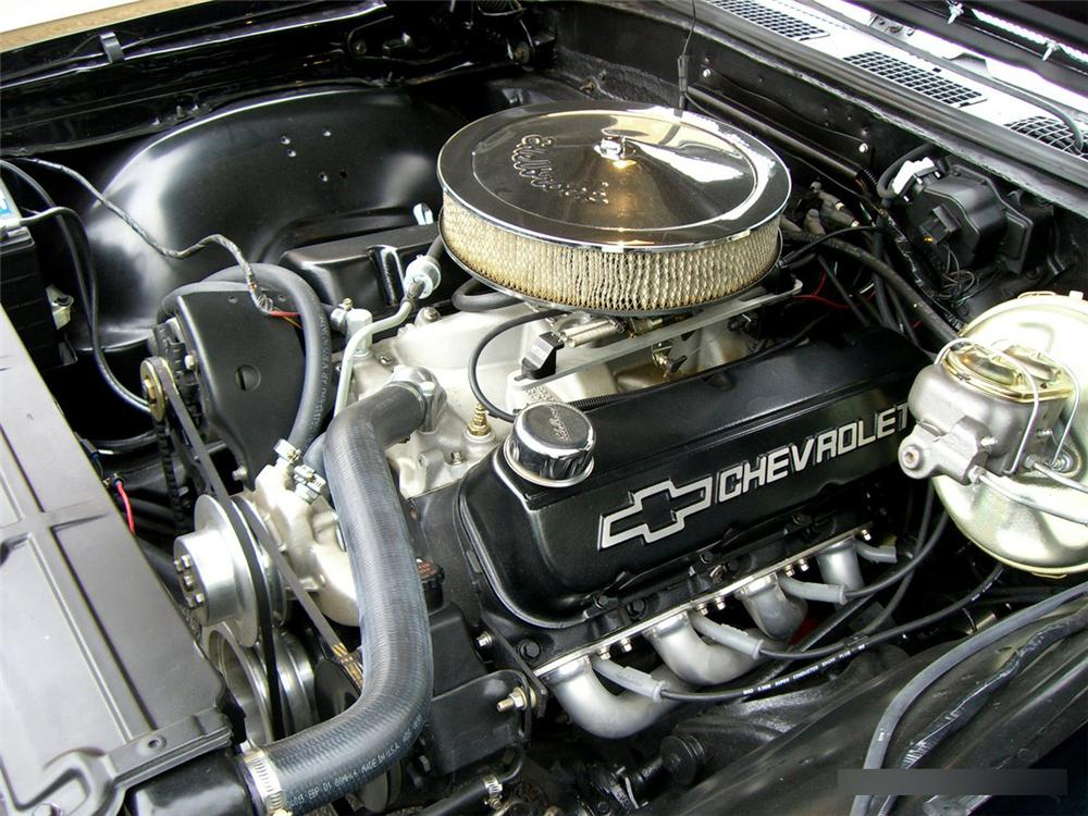 1968 CHEVROLET CHEVELLE CUSTOM CONVERTIBLE - Engine - 115992