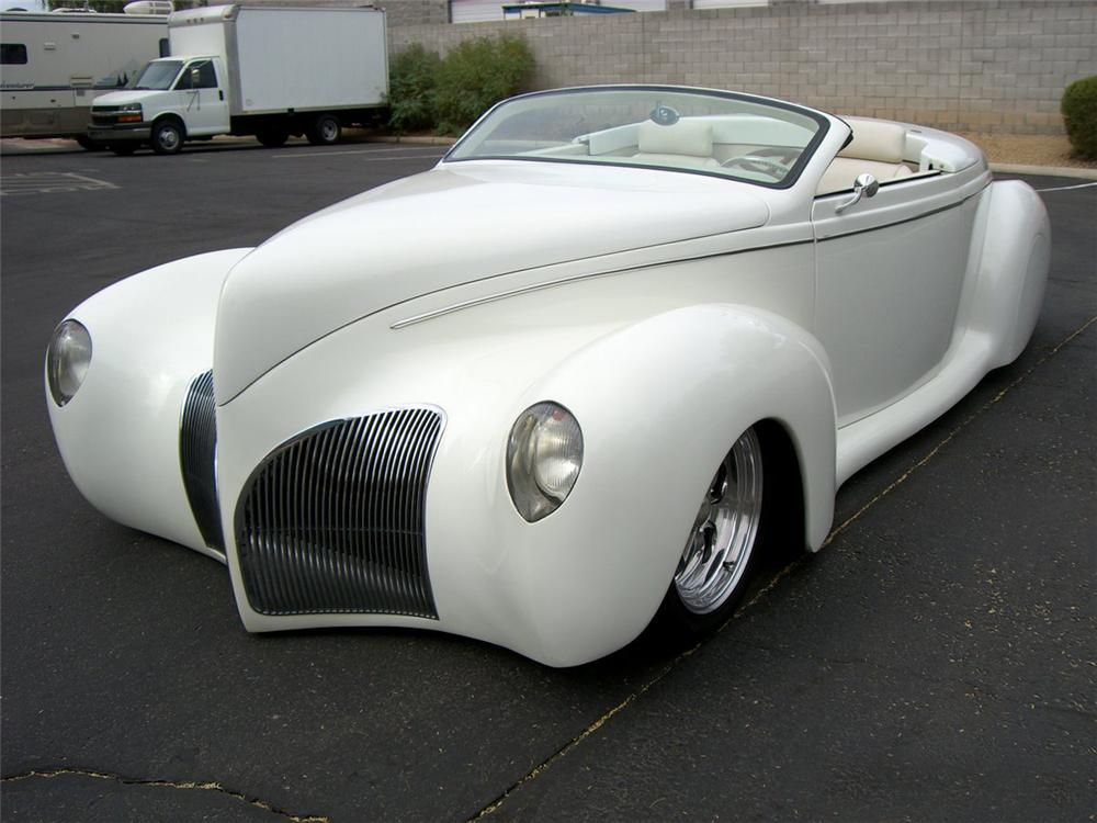 1939 LINCOLN ZEPHYR CONVERTIBLE - Front 3/4 - 115996