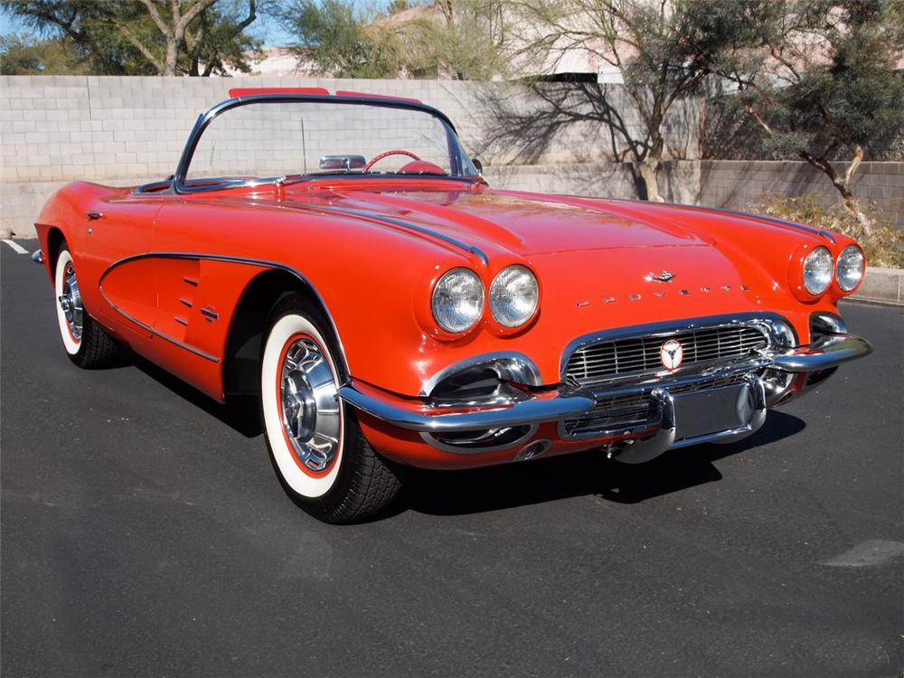 1961 chevrolet corvette convertible 115998. Black Bedroom Furniture Sets. Home Design Ideas