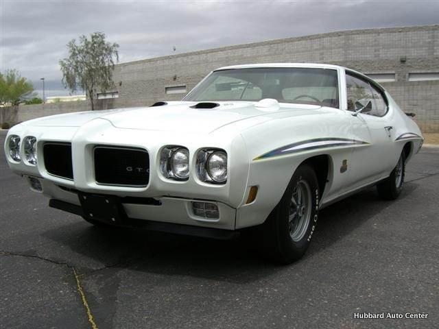 1970 PONTIAC GTO JUDGE 2 DOOR HARDTOP - Front 3/4 - 116000