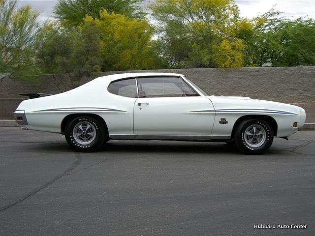 1970 PONTIAC GTO JUDGE 2 DOOR HARDTOP - Side Profile - 116000