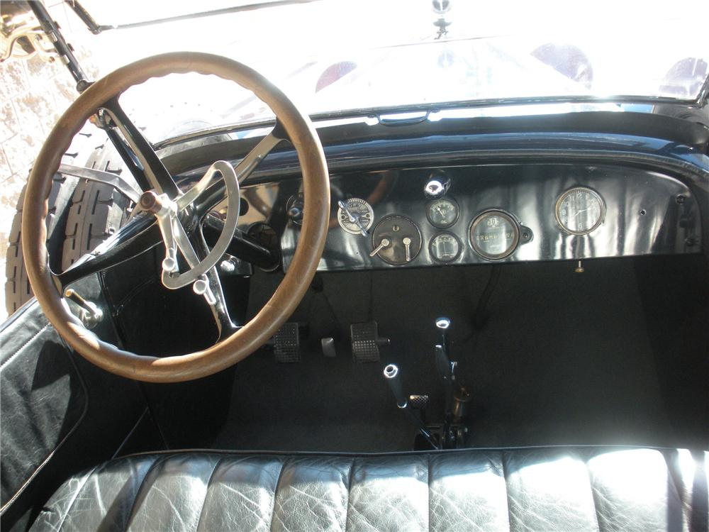 1920 HUDSON SUPER 6 TOURING - Interior - 116005