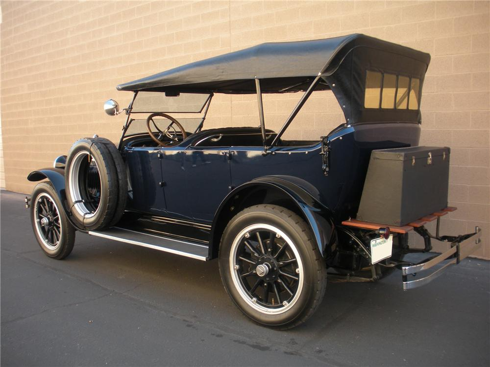1920 HUDSON SUPER 6 TOURING - Rear 3/4 - 116005