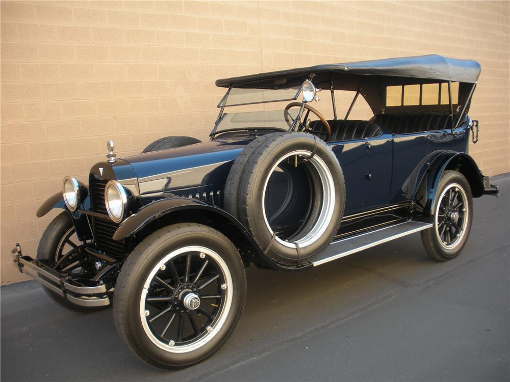 1920 HUDSON SUPER 6 TOURING - Side Profile - 116005