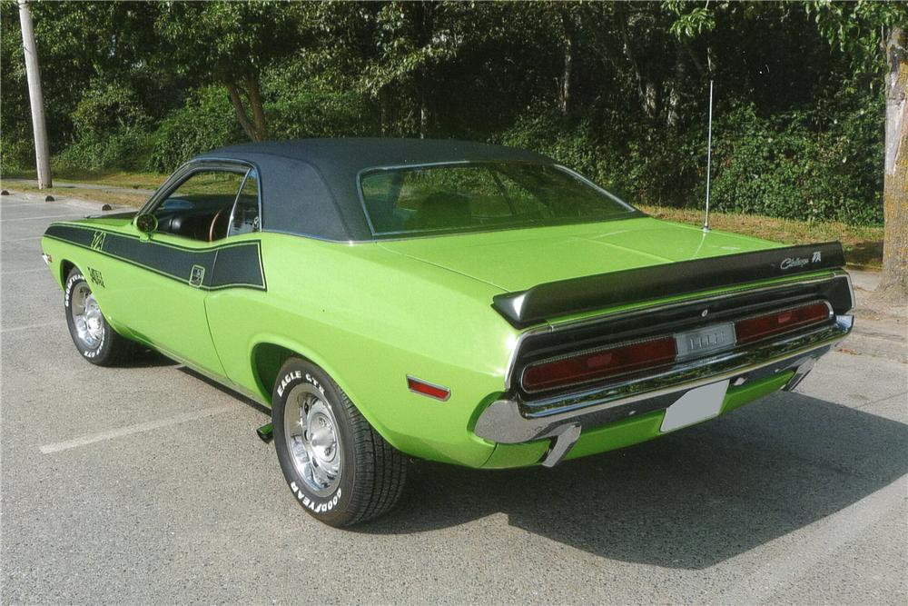 1970 dodge challenger t a 2 door hardtop 116007. Black Bedroom Furniture Sets. Home Design Ideas