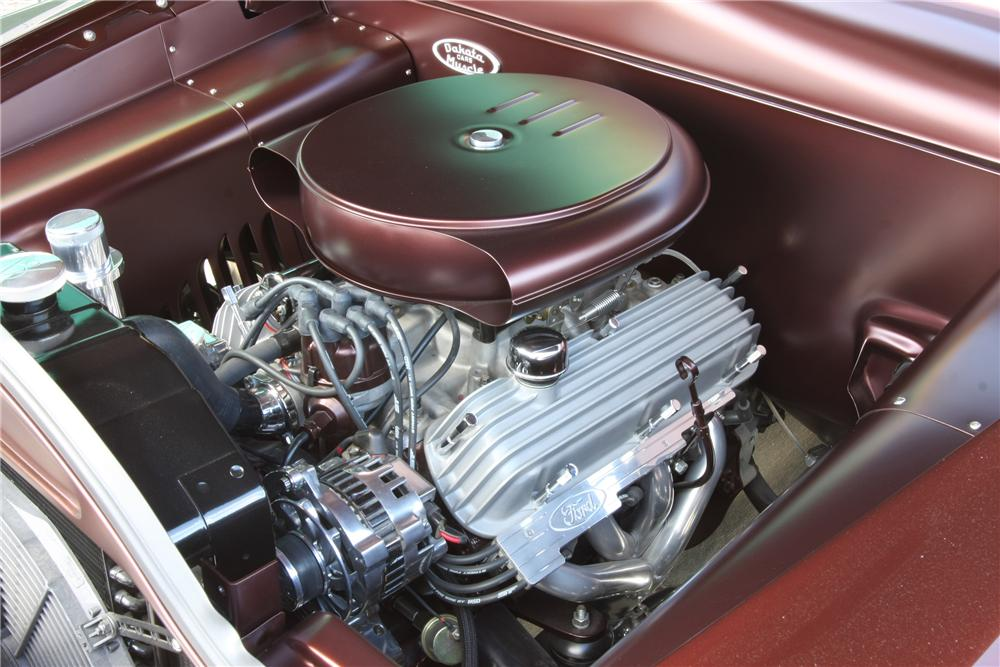 1950 FORD CUSTOM COUPE - Engine - 116011