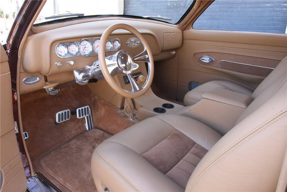 1950 FORD CUSTOM COUPE - Interior - 116011