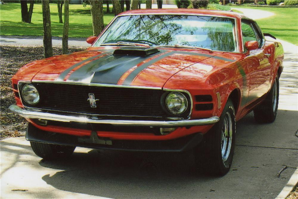 1970 FORD MUSTANG BOSS 302 FASTBACK - Front 3/4 - 116018