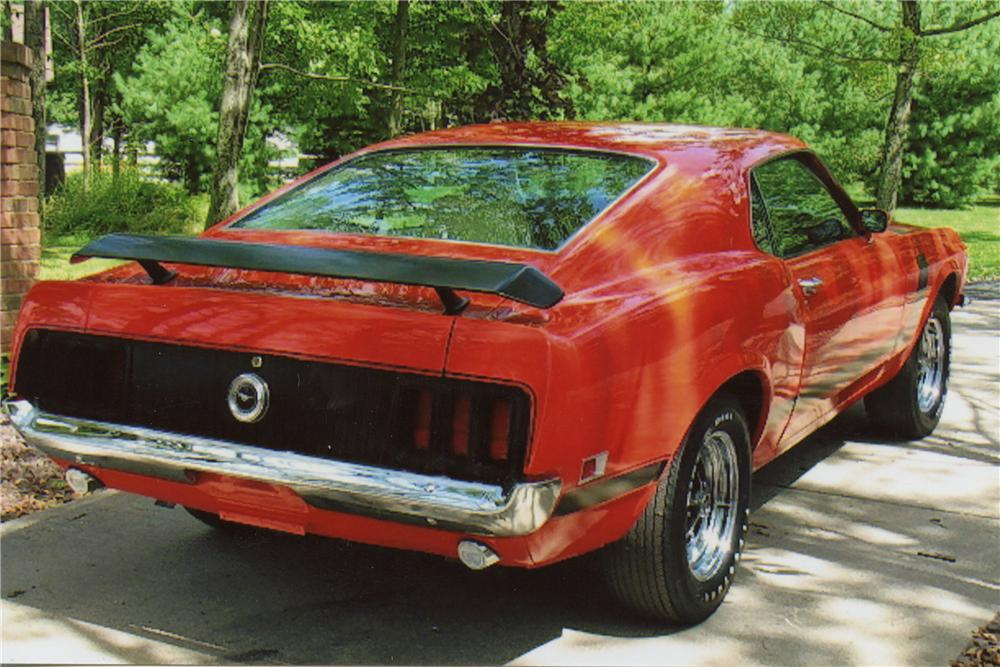 1970 FORD MUSTANG BOSS 302 FASTBACK - Rear 3/4 - 116018
