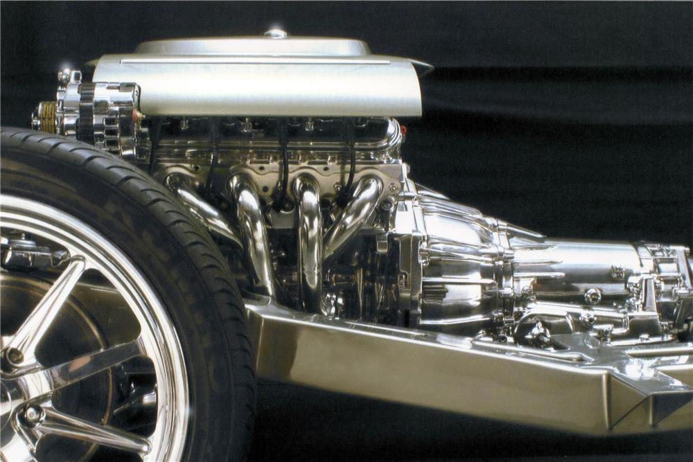 1962 CHEVROLET CORVETTE CUSTOM CONVERTIBLE - Engine - 116022