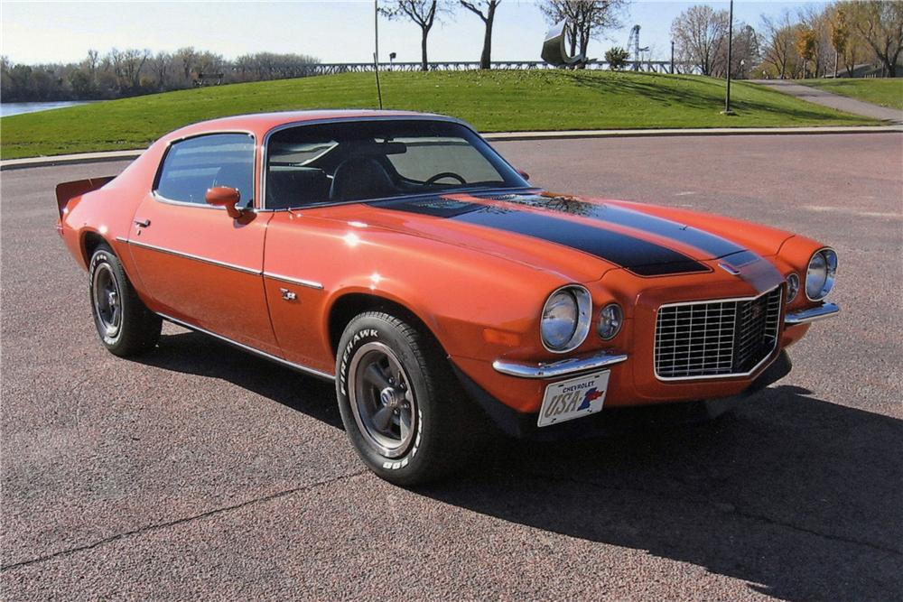 1973 CHEVROLET CAMARO Z/28 RS COUPE - Front 3/4 - 116025