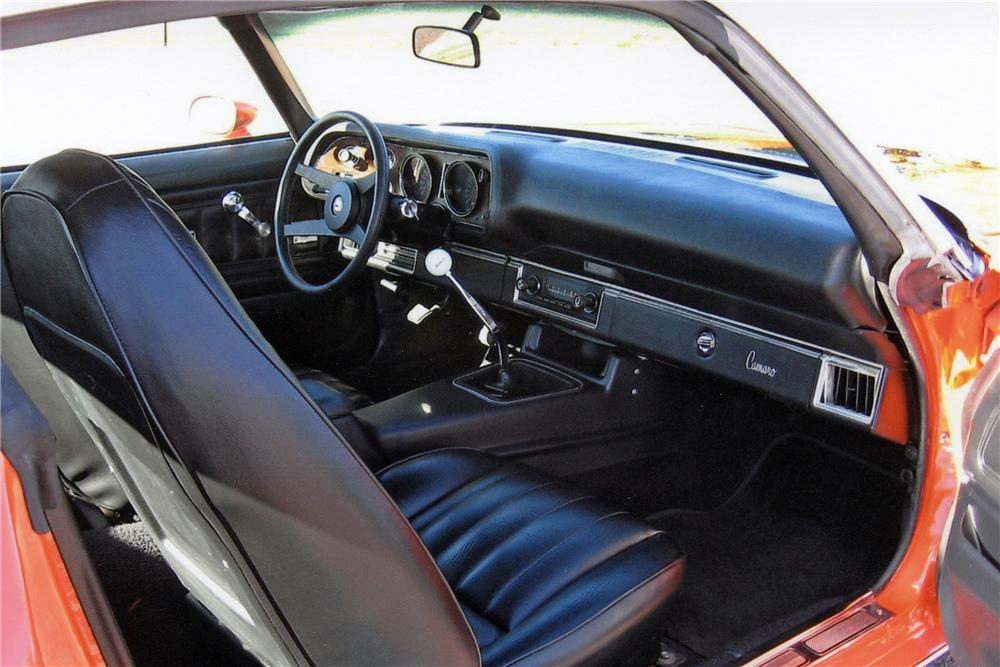 1973 CHEVROLET CAMARO Z/28 RS COUPE - Interior - 116025