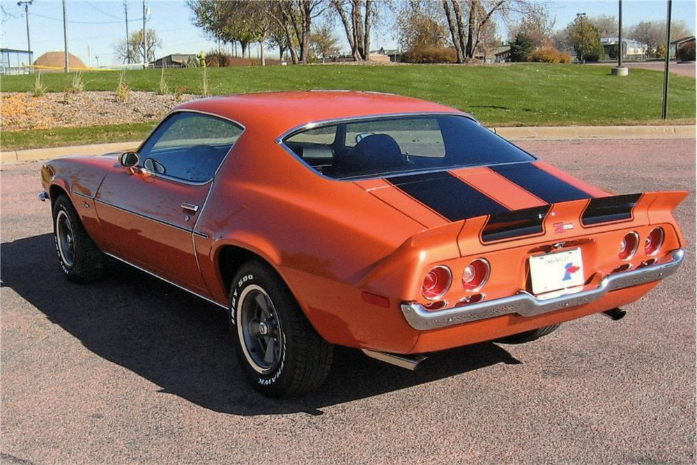 1973 CHEVROLET CAMARO Z/28 RS COUPE - Rear 3/4 - 116025